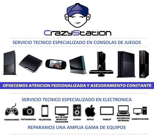 servicio tecnico ps2 ps3 ps4 psp wii xbox360 one 4 locales