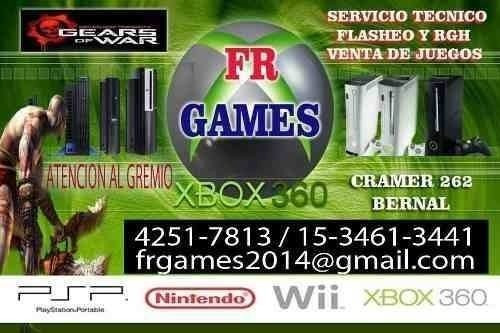 servicio tecnico  ps3  ps4 xbox360 rgh reballing  quilmes