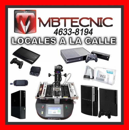 servicio tecnico ps3 ps4 xbox360 xbox one wii service repara