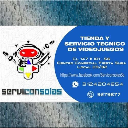 servicio técnico ps4, ps3, reparación limpieza (3124204654)