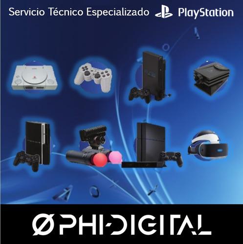 servicio técnico reballing playstation ps2 ps3 ps4 ps vr psp