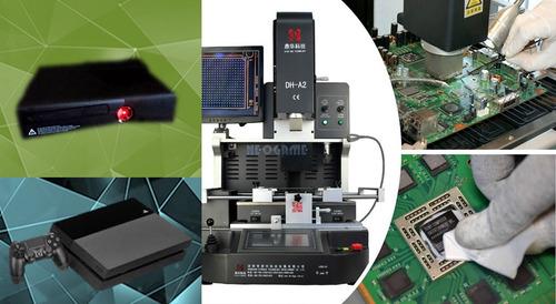 servicio tecnico reballing  xbox 360 one ps3 ps4 laptop sabg