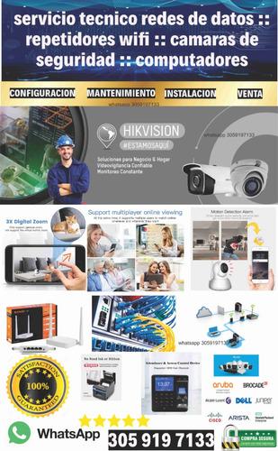 servicio tecnico redes de datos :: camaras de seguridad