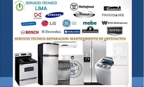 servicio tecnico refrigeracio neveras,lavadoras.aire acondic