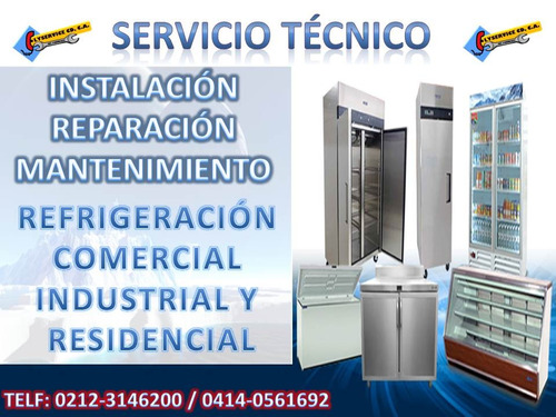 servicio técnico refrigeración comercial e industrial