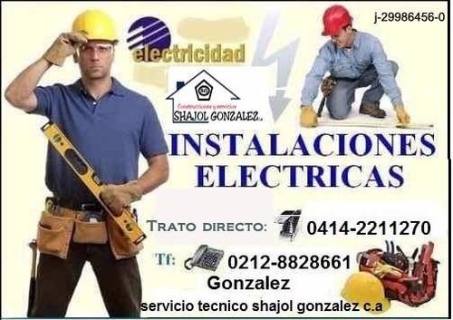 servicio técnico refrigeración, electricidad y remodelacion