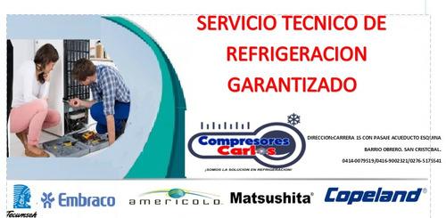 servicio tecnico refrigeracion san cristobal