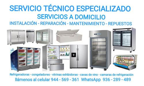 servicio técnico refrigeradoras , congeladores, exhibidores