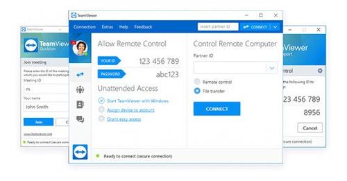 servicio técnico remoto a distancia teamviewer pc/android