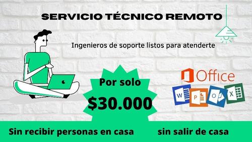 servicio técnico remoto - computadores