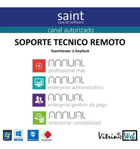 servicio técnico remoto soporte sistemas saint