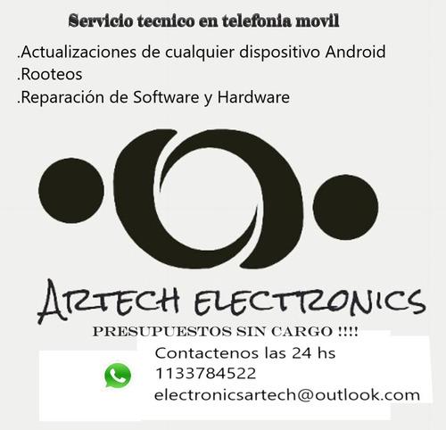 servicio técnico reparación  actualización android, root