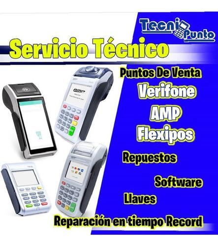 servicio tecnico reparacion amp, vx 510, 520, pax, ingenico.