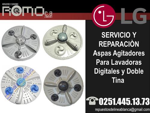 servicio tecnico reparación aspa lavadoras lg samsung
