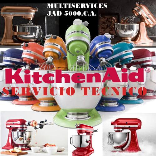 servicio técnico reparación batidoras kitchenaid