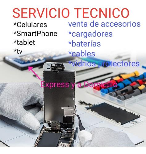 servicio técnico reparación celulares tablet laptos smartv