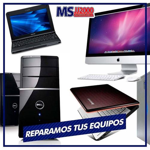 servicio técnico: reparación computadoras,laptop,tablet,cpu