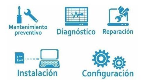 servicio tecnico, reparación, configuración de computadoras