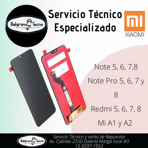 servicio técnico reparación de celulares xiaomi redmi note m