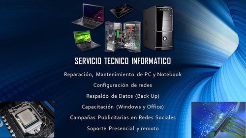 servicio técnico reparación de computadoras