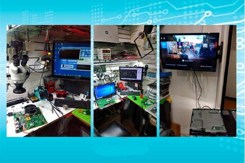 servicio tecnico reparacion de notebook mac pc ps4 ps3