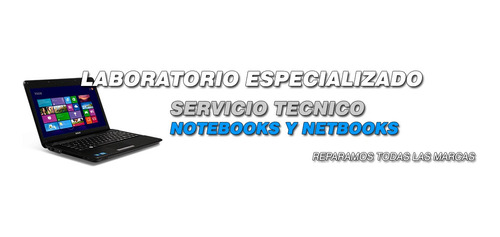servicio tecnico reparacion de notebook macbook y pc