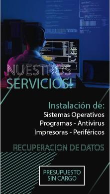 servicio tecnico. reparación de pc y notebooks en adrogué