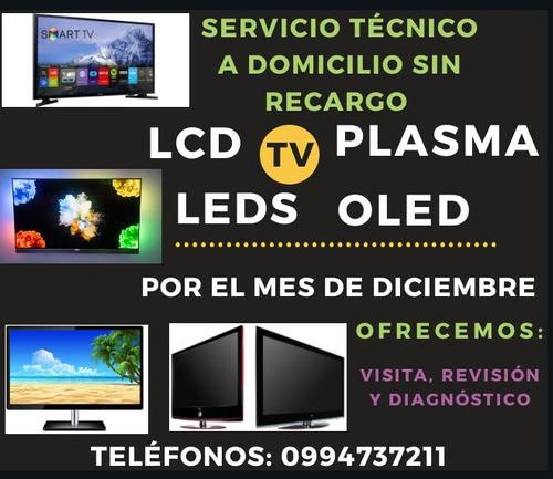 servicio técnico reparación de televisiones a domicilio.