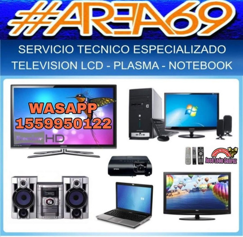 servicio técnico reparación de tv led smart tv 4k multimarca