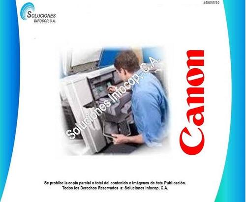 servicio técnico reparación fotocopiadoras canon
