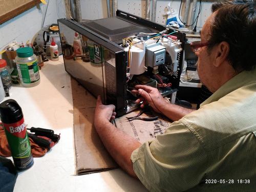 servicio técnico reparación hornos microondas