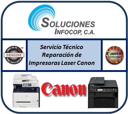servicio técnico reparación impresoras hp canon