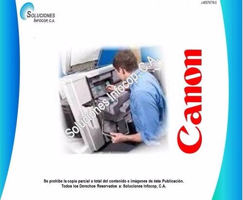 servicio técnico reparación impresoras laser canon