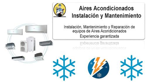 servicio tecnico reparacion instalacion aire acondicionado