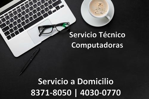 servicio técnico reparación mantenimiento laptop a domicilio