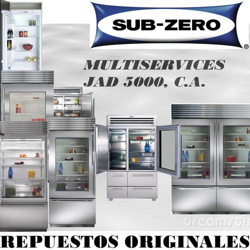 servicio técnico reparación nevera subzero fabricador  hielo