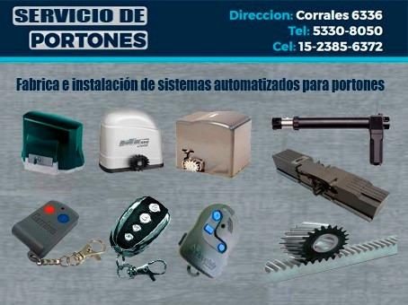 servicio tecnico reparacion portones service motor