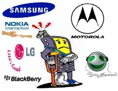 servicio técnico reparación todas las marcas celulares  gps