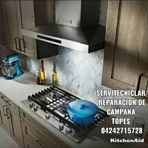 servicio técnico reparación tope campana lavavajilla horno