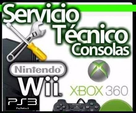 servicio tecnico  reparacion xbox 360 - ps2 - ps3 - ps4