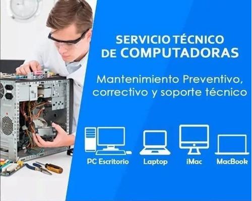 servicio tecnico, reparacion y mantenimiento de laptos y pc