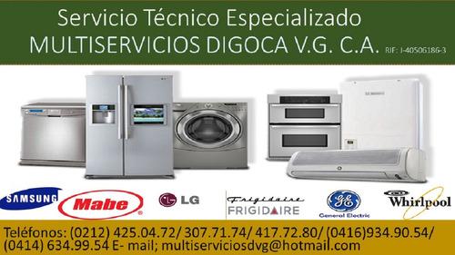 servicio tecnico . reparacion y mantenimiento ge samsung lg