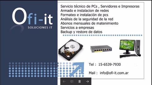 servicio tecnico servidores
