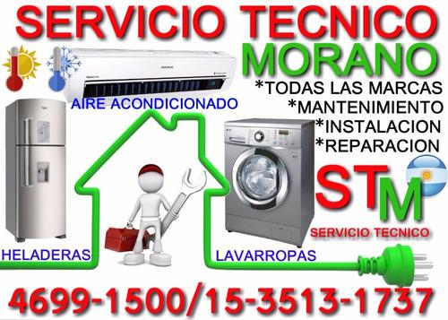 servicio tecnico stm heladeras lavarropas aire acondicionado