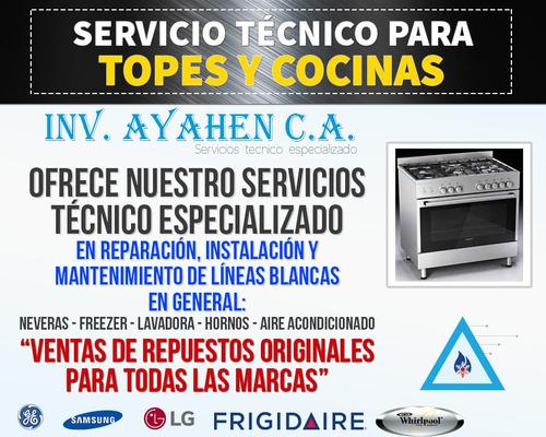 servicio técnico teka a gas y electrico
