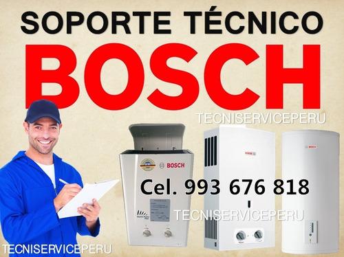 servicio técnico termas a gas sole bosch junkers