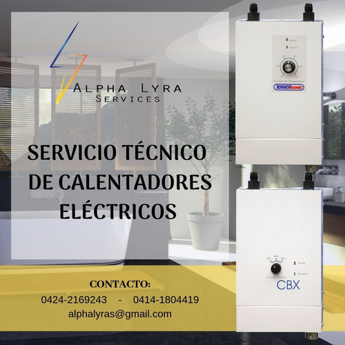 servicio técnico termotronic,cbx y aire acondicionado!
