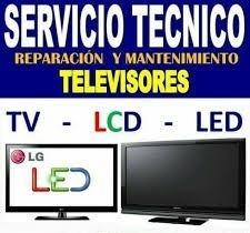 servicio técnico tv  lcd led