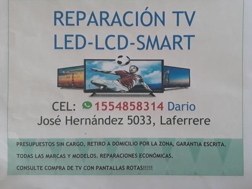servicio técnico tv led lcd smartv multimarcas zona oeste