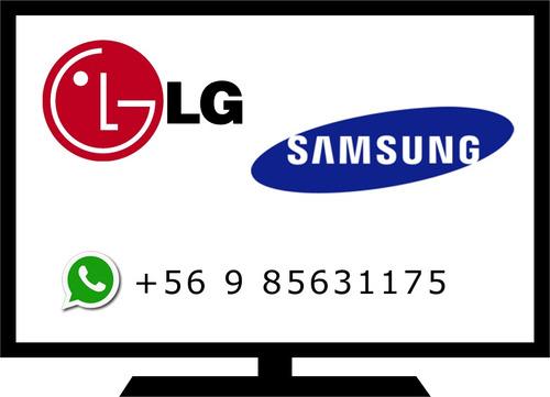 servicio tecnico tv led lg  samsung - reparación domicilio